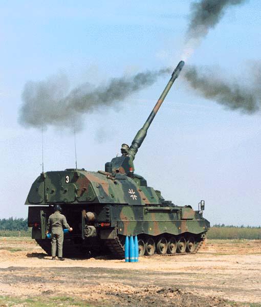 Танковая гаубица PzН 2000