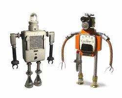 Роботы-скульптуры Гордона Бенета (с) novate.ru