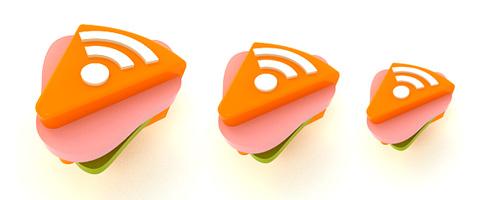 необычная RSS бутерброд