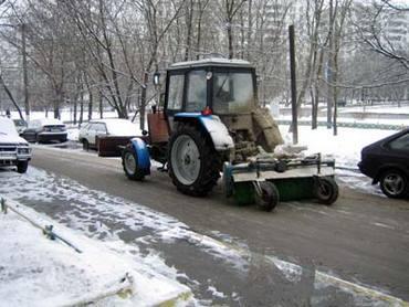 В Москве начали бороться с гололедицей