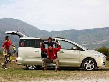 Mazda5: Удобство превыше всего