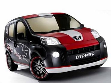 Peugeot представляет новый компактвэн Bipper
