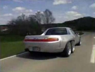 Из Porsche сделали шестиколесный пикап