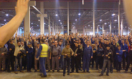 Забастовка ударила по качеству питерских Ford