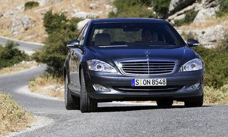 Демонические испытания Mercedes-Benz S350 4matic