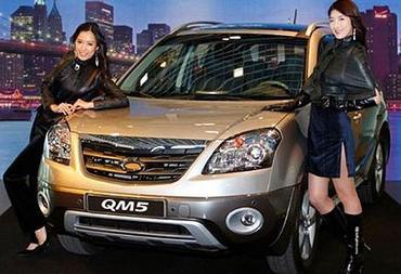Renault тестирует Koleos на корейцах