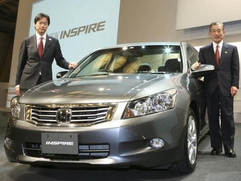 Honda Inspire - японский клон модели Accord