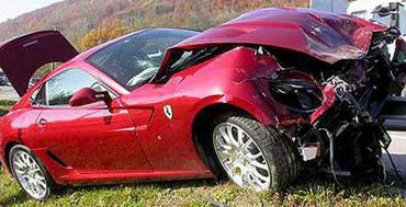 Глава Fiat разбил Ferrari