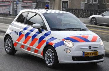 Fiat 500 взяли на работу в полицию