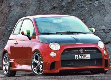 Малыш Fiat 500 оперился с помощью TRC-Marangoni