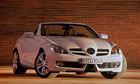 Mercedes-Benz SLK скинул устаревшие детали