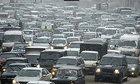 Снежная катастрофа на московских дорогах. ФОТО