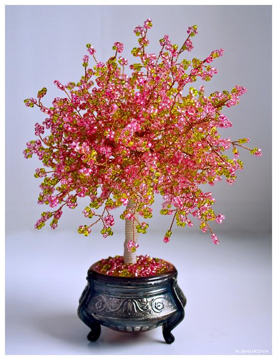 бисероплетение деревя