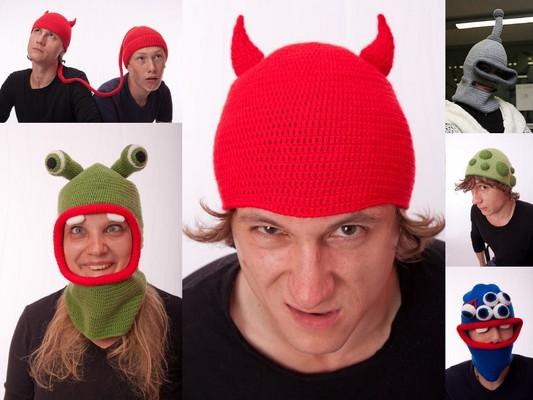зимняя вязаная шапка для девочки - Выкройки одежды для детей и взрослых.