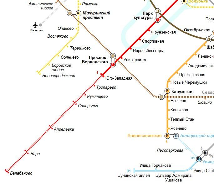 Румянцево метро - a7a