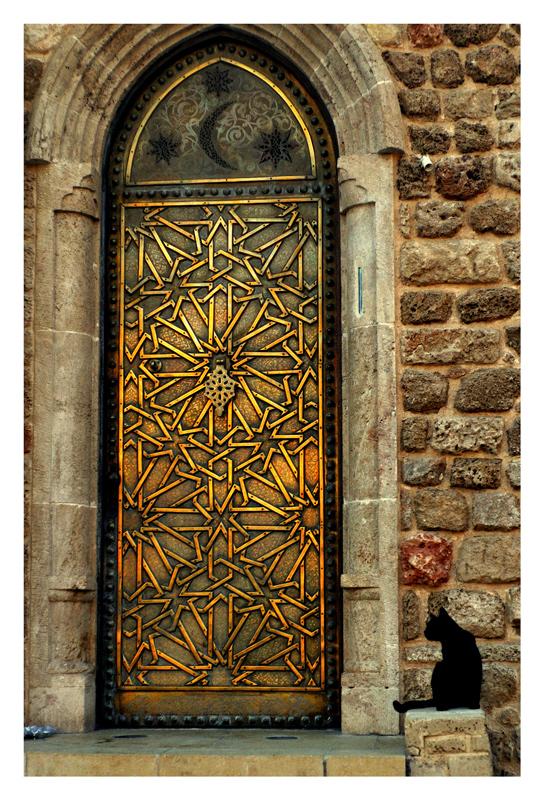 входные двери в стиле востока