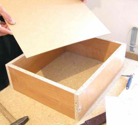 Выдвижная коробка своими руками 23