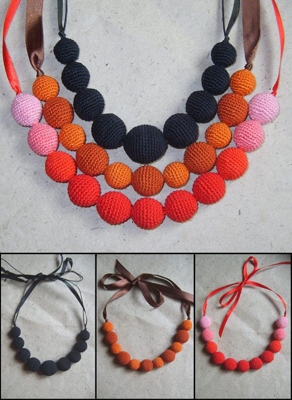 схемы вязания бус из бисера