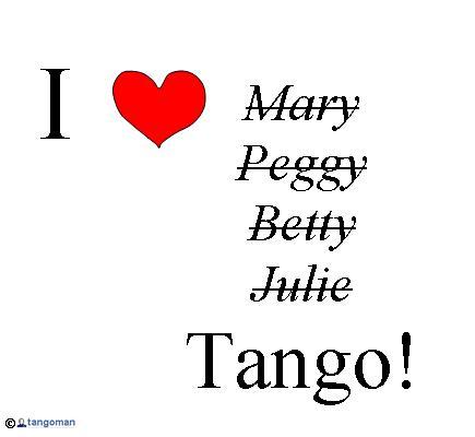 I love tango!