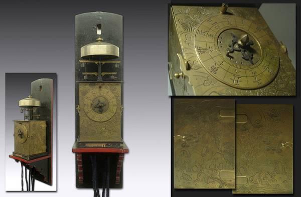 Механические часы эпохи Эдо