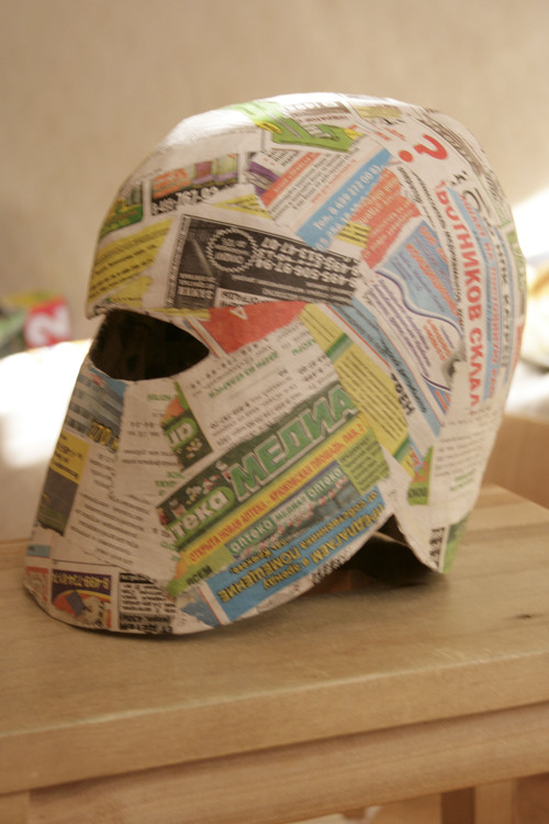 Как и из чего сделать шлем из бумаги