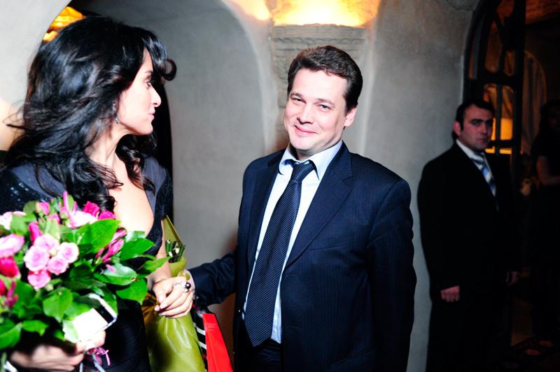 Тина Канделаки и Андрей Сафронов