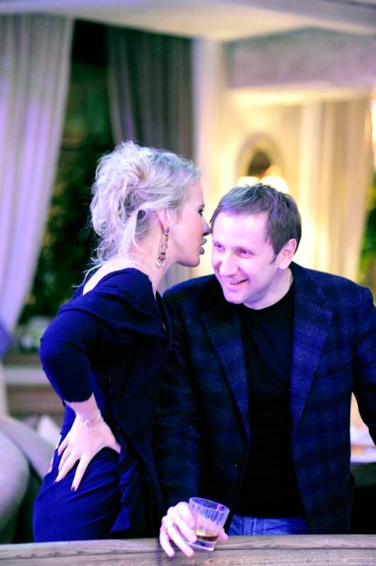 Ксения Собчак и Вячеслав Муругов