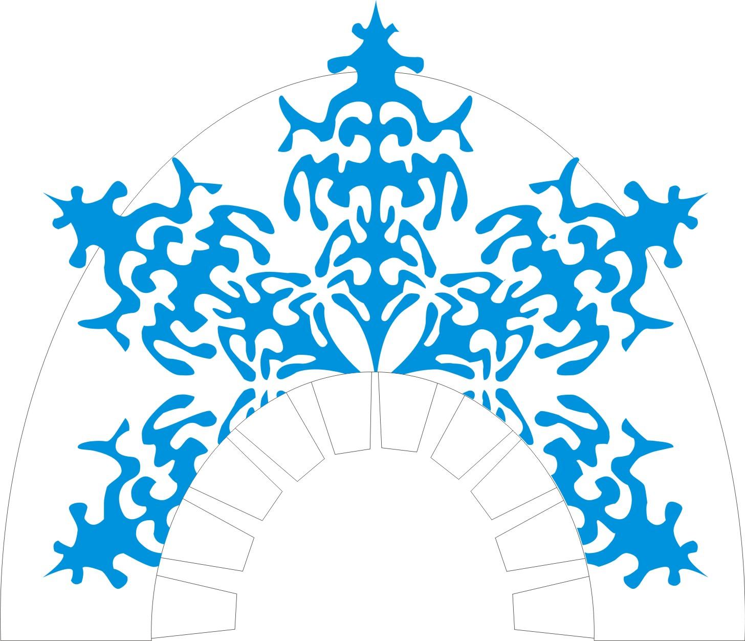 Корона снегурочки своими руками из бумаги фото