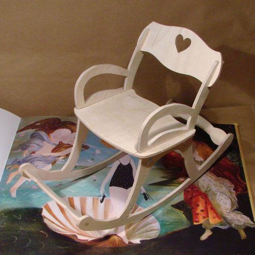 Кресло качалка без полозьев своими руками