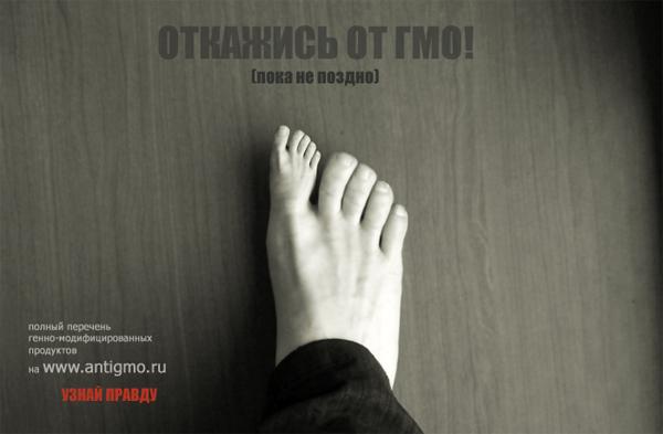 Голосуем за сохранение жизни в России (нет ГМО)