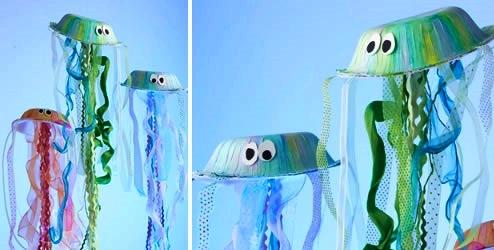 Поделка медуза для детей