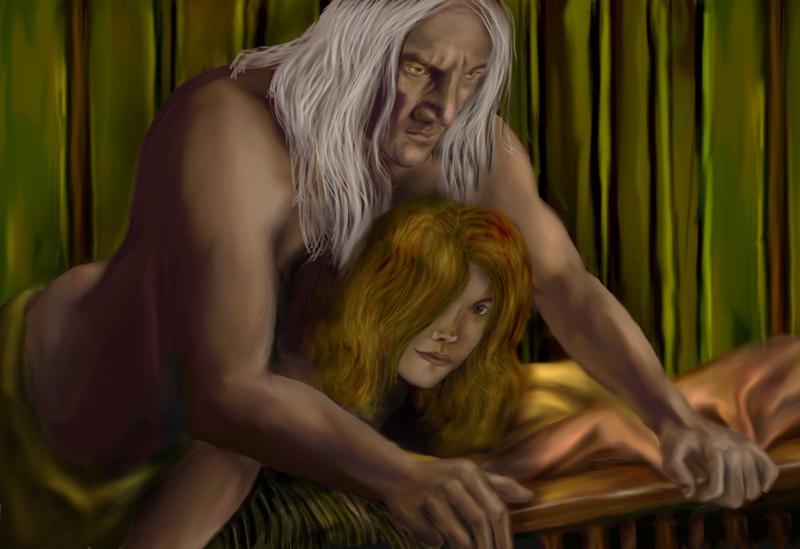 Люциус и Гермиона (планшетные).