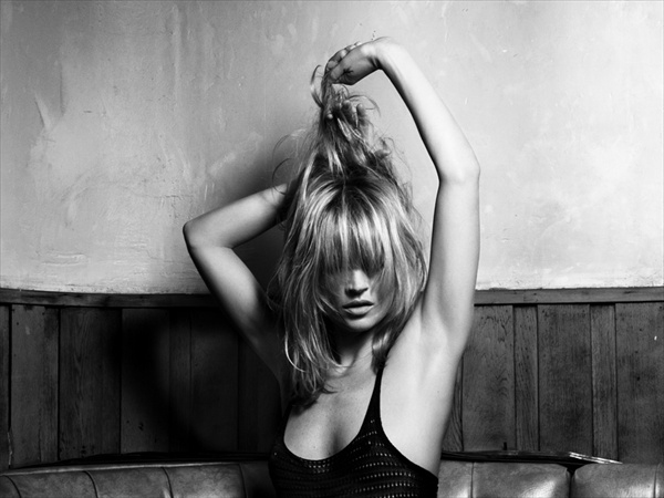 Kate Moss glamour