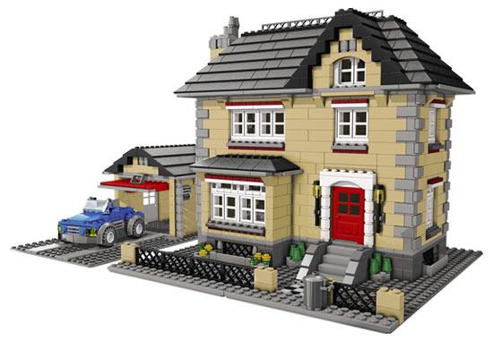 всех конструкторов «Лего»