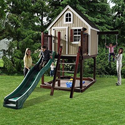 Уличные детские домики фото