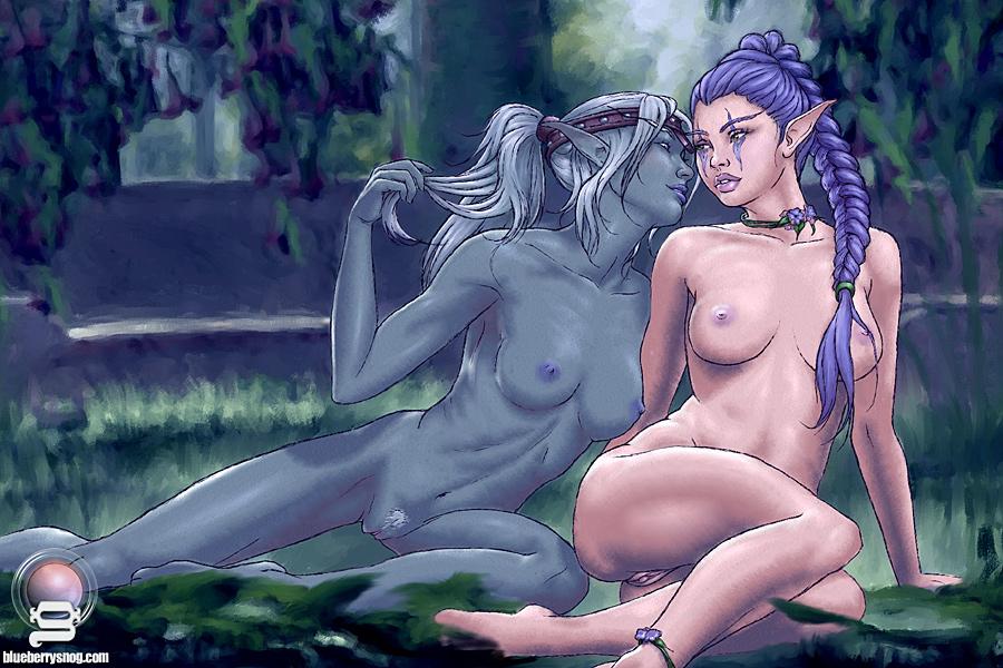 порно картинки эльфийка