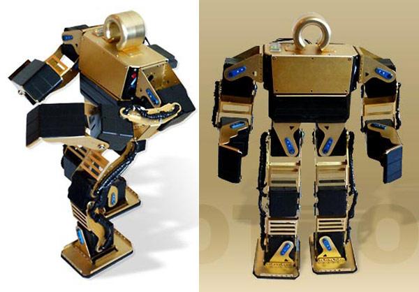 Видеопрезентация робота в продолжении. выпустила своего первого андроидного робота Junimotion.