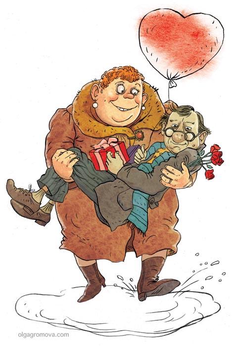 Комиксы о жизни от Громовой Ольги