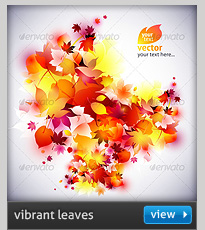 abstract autumn leaves backgrounds