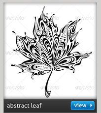 abstract autumn leaf