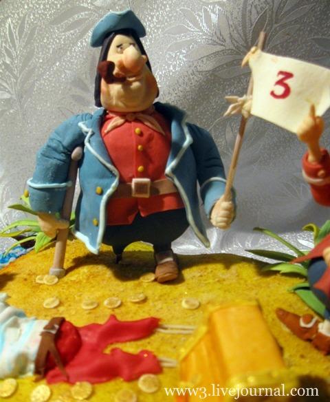 Торт остров сокровищ, фото
