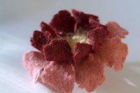 валяние из шерсти цветы мастер класс - Сумки.