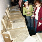 Ко Дню Конституции в Житомире открыта выставка архивных документов