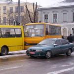 Происшествия: В Житомире столкнулись две маршрутки. ФОТО