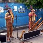 Культура: Индейцы из Перу устроили на улице Житомира концерт. ФОТО