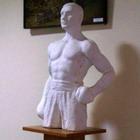 Культура: Житомирский скульптор слепил гипсового Виталия Кличко. ФОТО