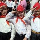 Общество: 22 апреля Житомирских школьников принимали в пионеры. ФОТО