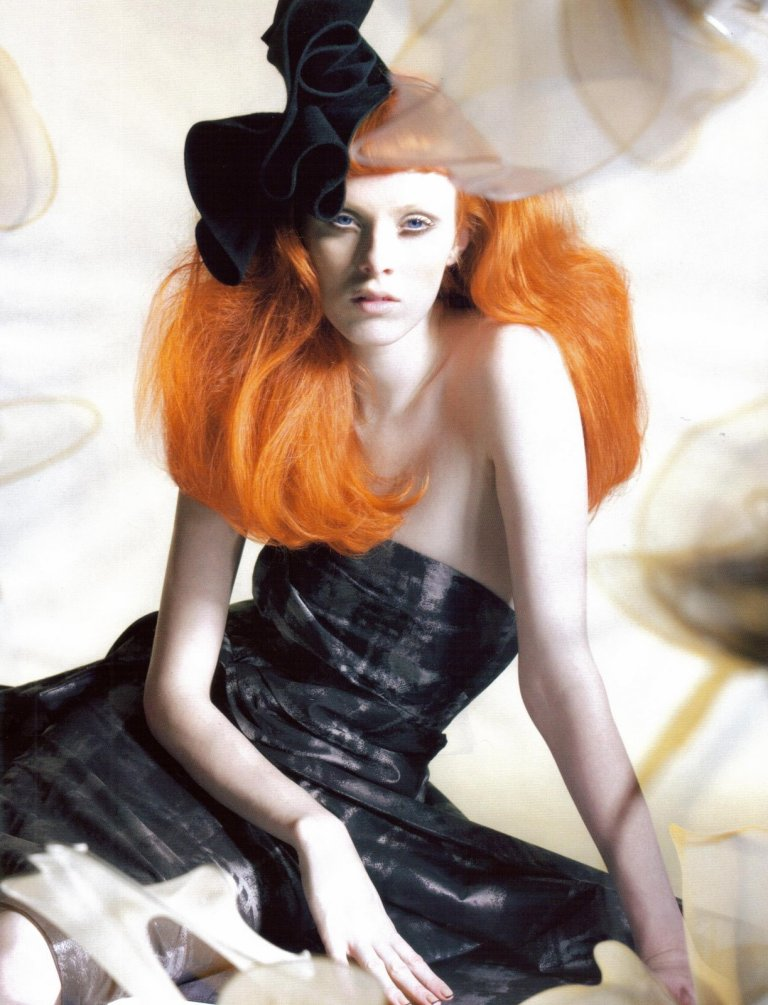 karenElson6 Карен Элсон, Vogue 2008