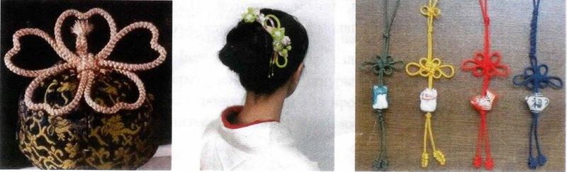 Ханамусуби - японское плетение. Продолжение - Записки у изголовья