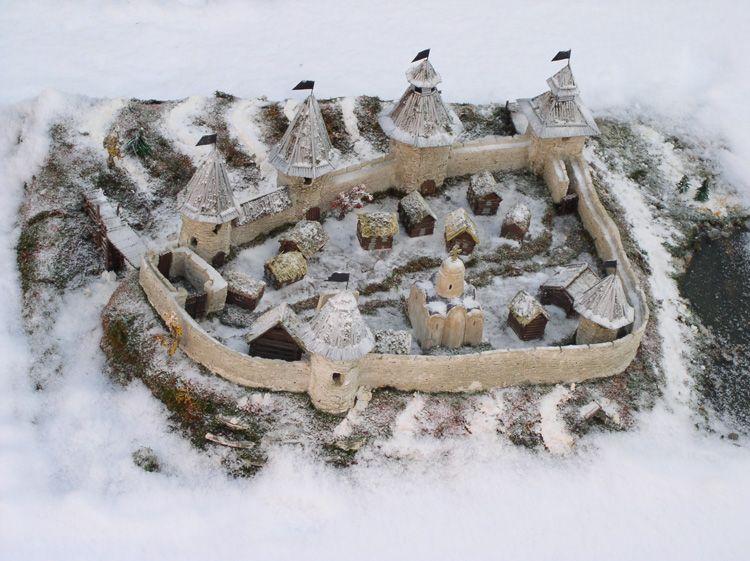 Крепость первый снег поиграем